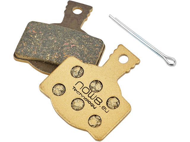 NOW8 E-Bike Gold Disc Brake Pads CC3Xplus for Magura MT 2/4/6/8 gold